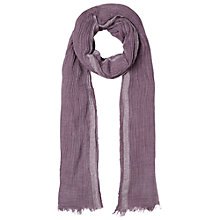 Buy White Stuff Dreaming Away Scarf, Purple Online at johnlewis.com