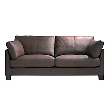 Buy John Lewis Ikon Large 3 Seater Sofa, Dakota Mocha Online at johnlewis.com