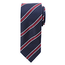 Buy John Lewis Silk Club Stripe Tie Online at johnlewis.com