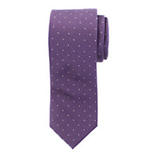 Buy John Lewis Small Dot Silk Tie Online at johnlewis.com