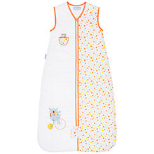 Buy Grobag Peek-A-Boo Baby Sleeping Bag, 1 Tog, White/Multi Online at johnlewis.com