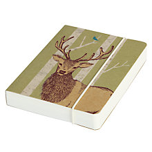 Buy Go Stationery Stags Notebook, A6 Online at johnlewis.com