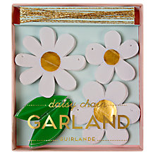 Buy Meri Meri Daisy Chain Mini Garland Online at johnlewis.com