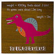 Buy Meri Meri Dinosaur Napkins, Pack of 20 Online at johnlewis.com