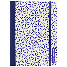 Buy Emma Bridgewater Bound A5 Notebook, Blue Online at johnlewis.com