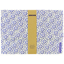Buy Emma Bridgewater Blue A4 Document Wallets, Set of 2 Online at johnlewis.com