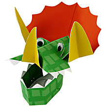 Buy Meri Meri Dinosaur Party Hats, Pack of 8 Online at johnlewis.com