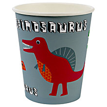 Buy Meri Meri Dinosaur Cups, Pack of 12 Online at johnlewis.com