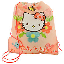 Buy Hello Kitty Home Sweet Home Trainer Bag, Pink/Multi Online at johnlewis.com