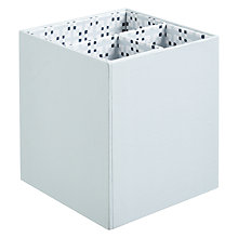 Buy John Lewis Croft Collection Square Pen Pot Online at johnlewis.com