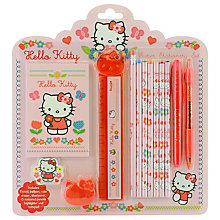 Buy Hello Kitty Home Sweet Home Super Stationery Set Online at johnlewis.com