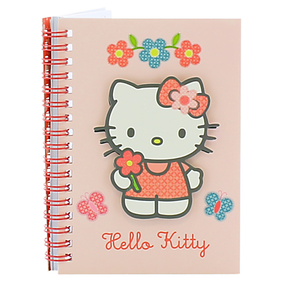 Hello Kitty Home Sweet Home A6 Notebook, Pink/Multi