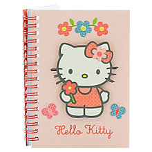 Buy Hello Kitty Home Sweet Home A6 Notebook, Pink/Multi Online at johnlewis.com