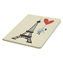 Buy Art File Eiffel Tower A6 Notebook Online at johnlewis.com
