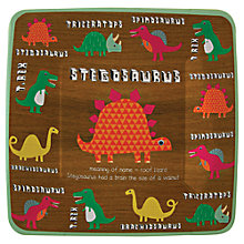 Buy Meri Meri Dinosaur Party Plates, Pack of 12 Online at johnlewis.com