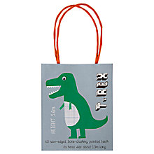 Buy Meri Meri Dinosaur Party Bags, Pack of 8 Online at johnlewis.com