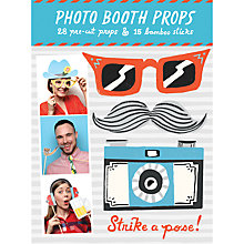 Buy Galison Strike A Pose Photo Props Online at johnlewis.com