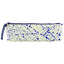Buy Emma Bridgewater Slim Pencil Case, Blue/White Online at johnlewis.com