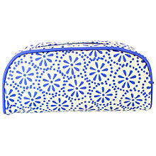 Buy Emma Bridgewater Splatter Pencil Case, Large, Blue Online at johnlewis.com