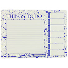 Buy Emma Bridgewater To Do List Notepad, Blue Online at johnlewis.com