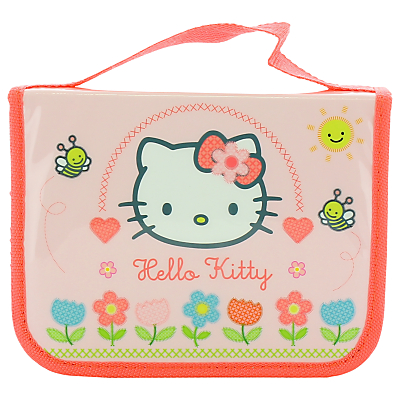 Hello Kitty Home Sweet Home Filled Pencil Case, Pink/Multi