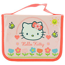 Buy Hello Kitty Home Sweet Home Filled Pencil Case, Pink/Multi Online at johnlewis.com