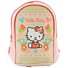 Buy Hello Kitty Home Sweet Home Backpack, Pink/Multi Online at johnlewis.com