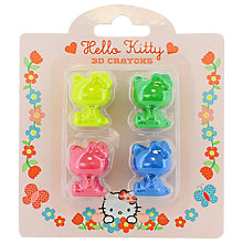 Buy Hello Kitty Home Sweet Home 3D Crayons, Pack of 4 Online at johnlewis.com
