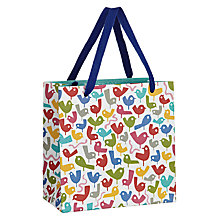 Buy Lo Cole Early Birds Gift Bag, Multi, Medium Online at johnlewis.com