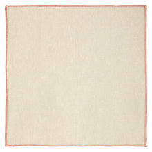 Buy John Lewis Border Print Napkins, Set of 4 Online at johnlewis.com