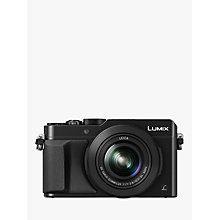 "Buy Panasonic Lumix DMC-LX100 Camera, 4K Ultra HD, 12.8MP, 3.1x Optical Zoom, 3"" LCD Screen Online at johnlewis.com"