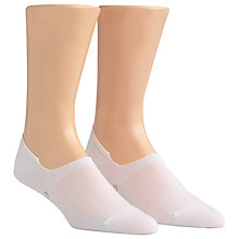 Buy Calvin Klein No Show Dress Socks, Pack of 2, One Size, White Online at johnlewis.com