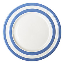 Buy Cornishware Dinner Plate, Dia.28cm Online at johnlewis.com