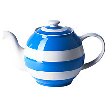 Buy Cornishware Betty Teapot, Small Online at johnlewis.com