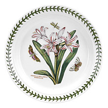 Buy Portmeirion Botanic Garden Bela Lily Plate, Dia.20cm, Seconds Online at johnlewis.com