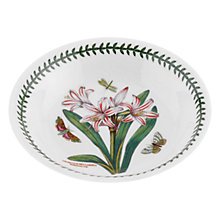 Buy Portmeirion Botanic Garden Sweet Willow Pasta Bowl, Dia.20cm, Seconds Online at johnlewis.com
