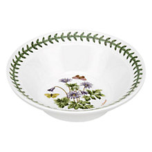 Buy Portmeirion Botanic Garden Wind Flower Soup/ Cereal Bowl Online at johnlewis.com