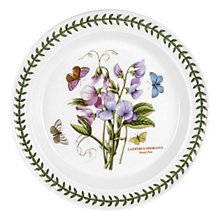 Buy Portmeirion Botanic Garden Sweet Pea Plate Online at johnlewis.com