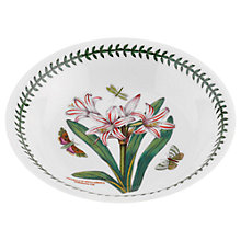 Buy Portmeirion Botanic Garden Bell Lily Pasta Bowl Online at johnlewis.com