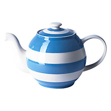 Buy Cornishware Standard Teapot Online at johnlewis.com