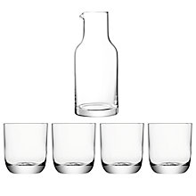 Buy LSA International Una Carafe & Four Tumblers Online at johnlewis.com