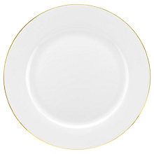 Buy Royal Worcester Serendipity Gold 27cm Dinner Plate Online at johnlewis.com