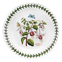 Buy Portmeirion Botanic Garden Fuchsia Plate, Dia.15cm, Seconds Online at johnlewis.com