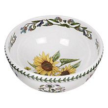 Buy Portmeirion Botanic Garden Sunflower Salad Bowl, Dia.14cm, Seconds Online at johnlewis.com