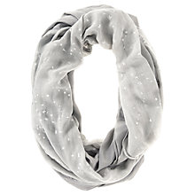 Buy Hygge by Mint Velvet Snood, Silver Grey Online at johnlewis.com