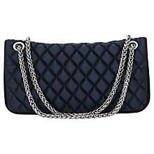 Buy Reiss Tallulah Quilted Bag, Navy Online at johnlewis.com