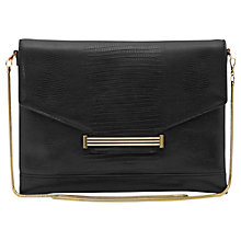 Buy Reiss Livi Textured Envelope Clutch Bag Online at johnlewis.com