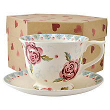 Buy Emma Bridgewater Rose & Bee Cup & Saucer Online at johnlewis.com