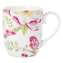 Buy PiP Studio Chinese Garden Small Mug, White Online at johnlewis.com