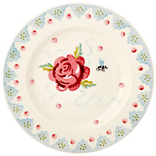 Buy Emma Bridgewater Rose And Bee Plate, Dia.17 Online at johnlewis.com